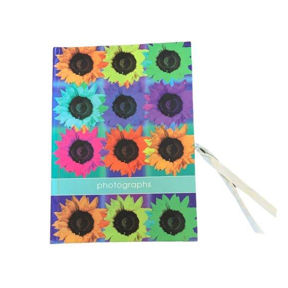 💜 5/$25 - New unused photo album book flowers